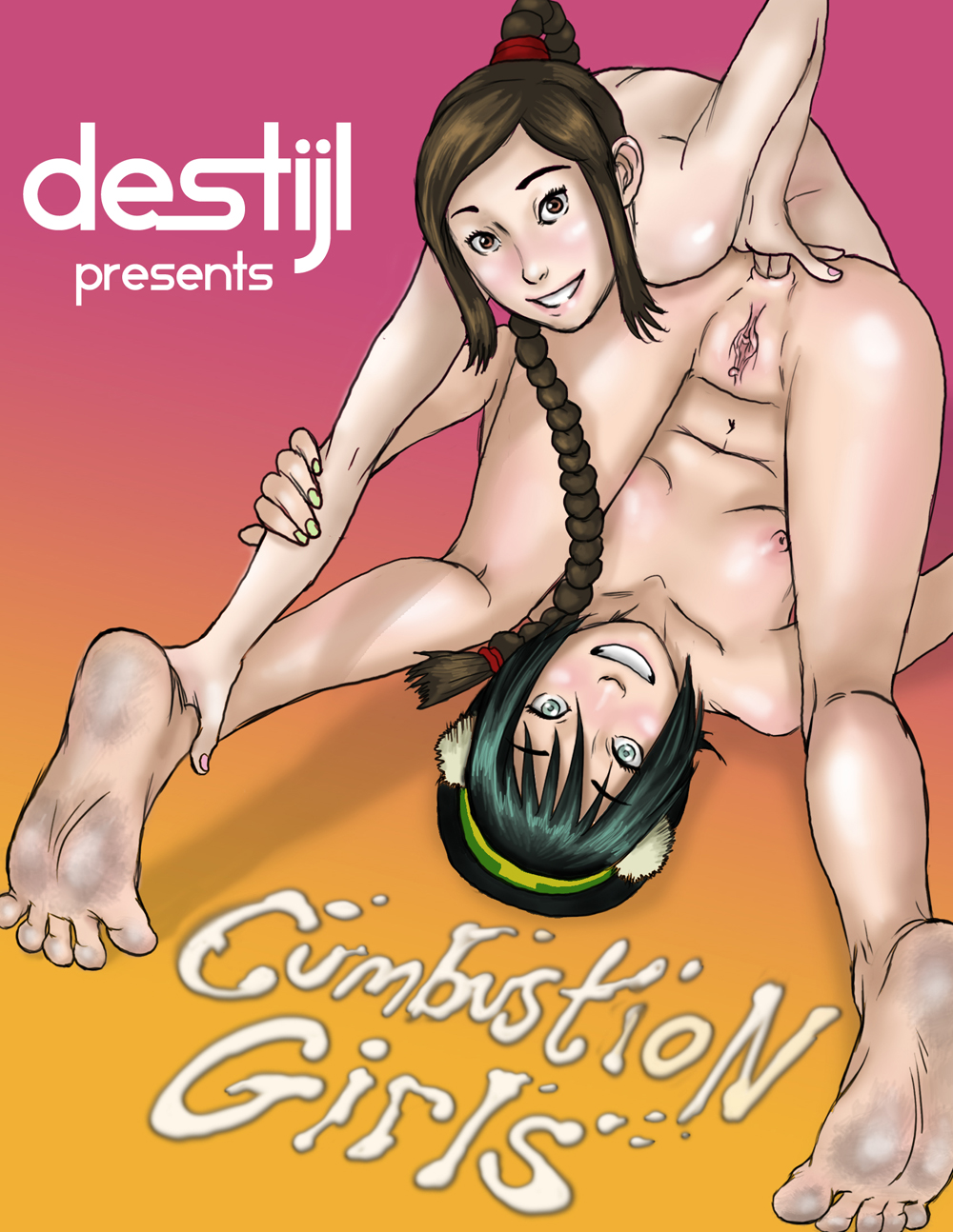 Cumbustion Girls - 00_Cover