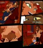 Disney — Treasure Planet — [Jabberwockychamber] — Doppler fuck Captain Amelia xxx porno
