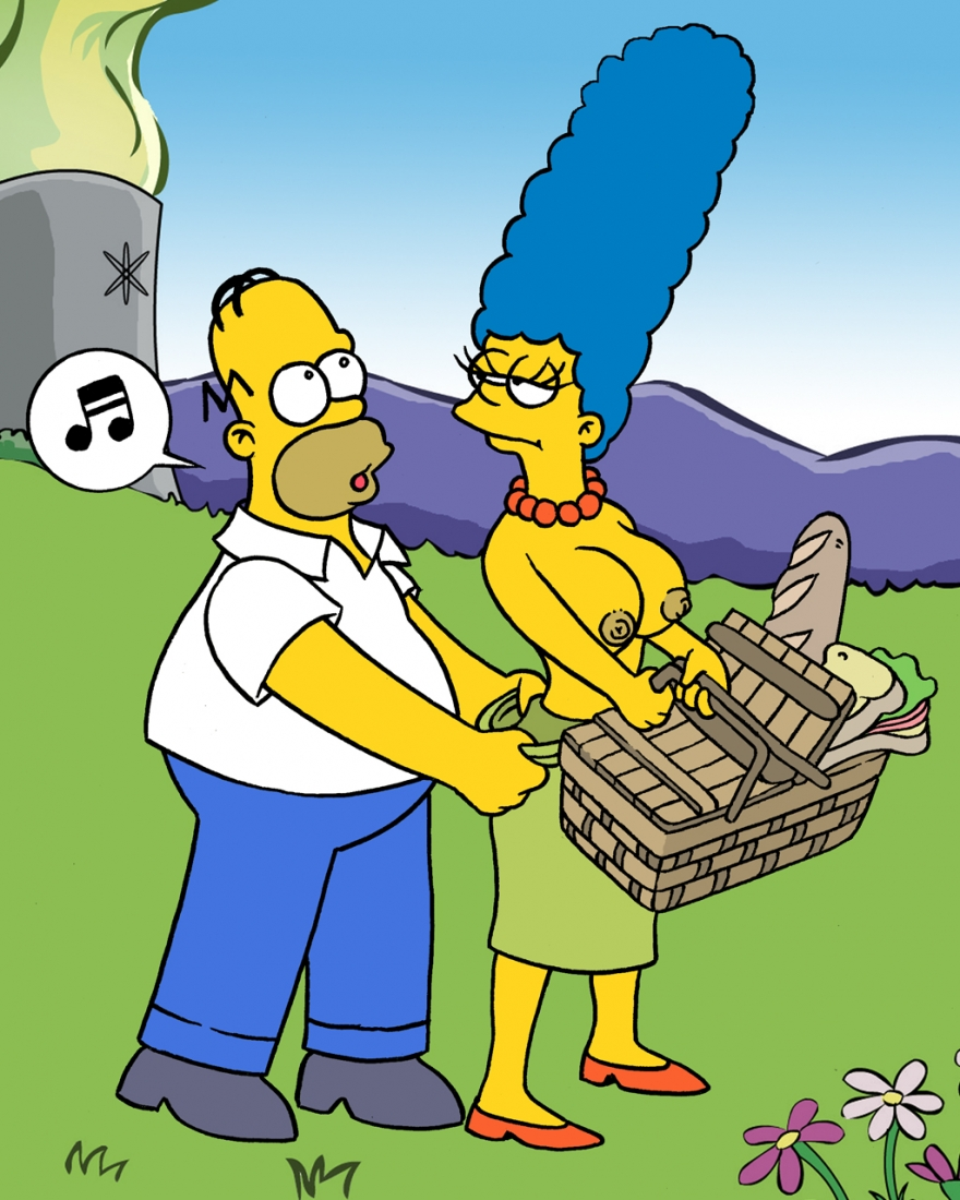 Homer And Marge - Picnik - 01