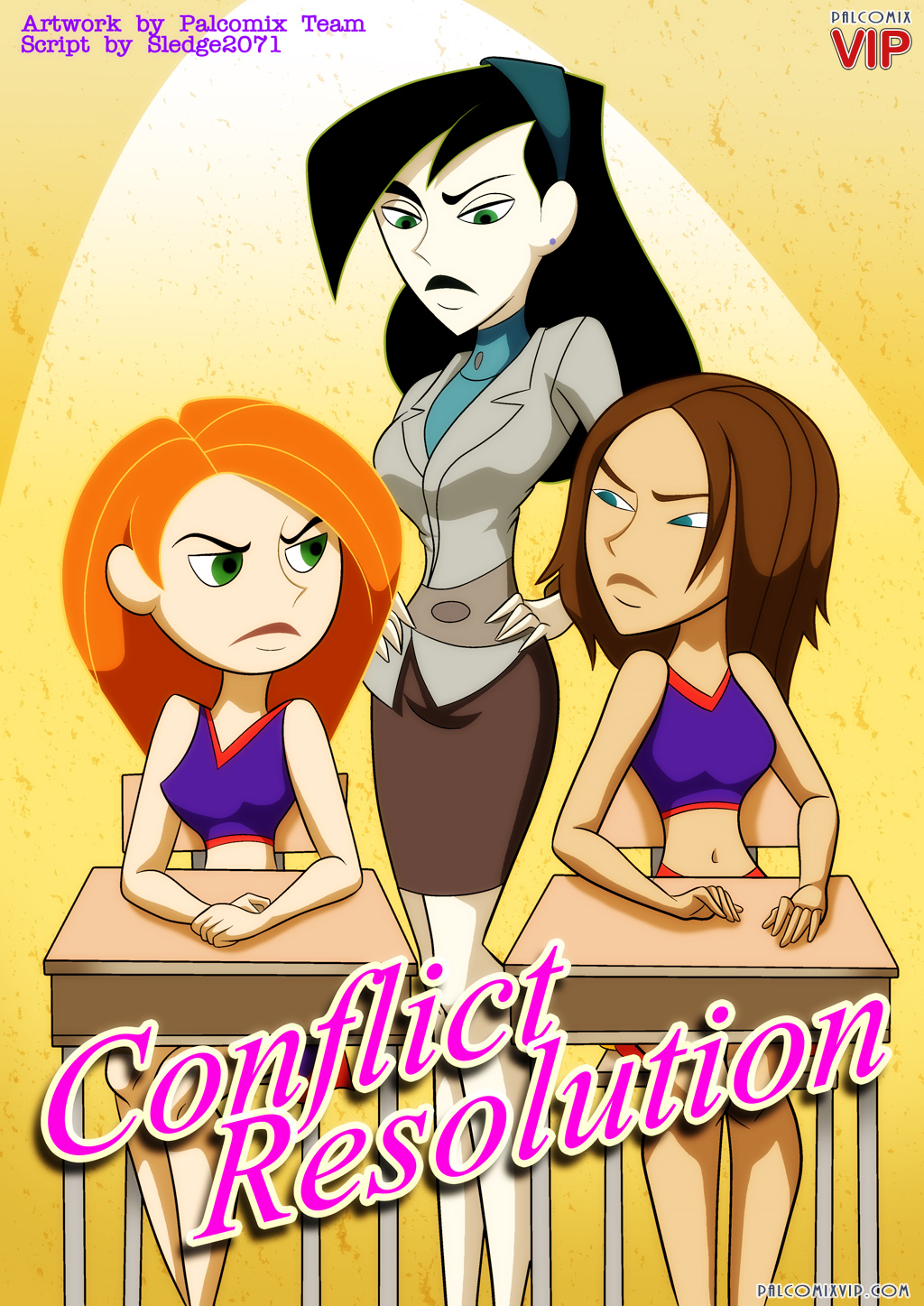 Kim Possible - [Palcomix] - Conflict Resolution xxx porno