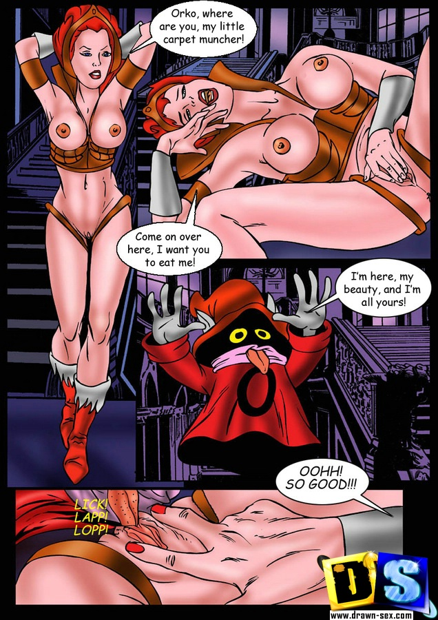 He-Man - [Drawn-Sex] - Fucking Monsters xxx porno