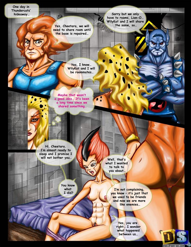 ThunderCats - [Drawn-Sex] - Lesbi Pussycat xxx porno