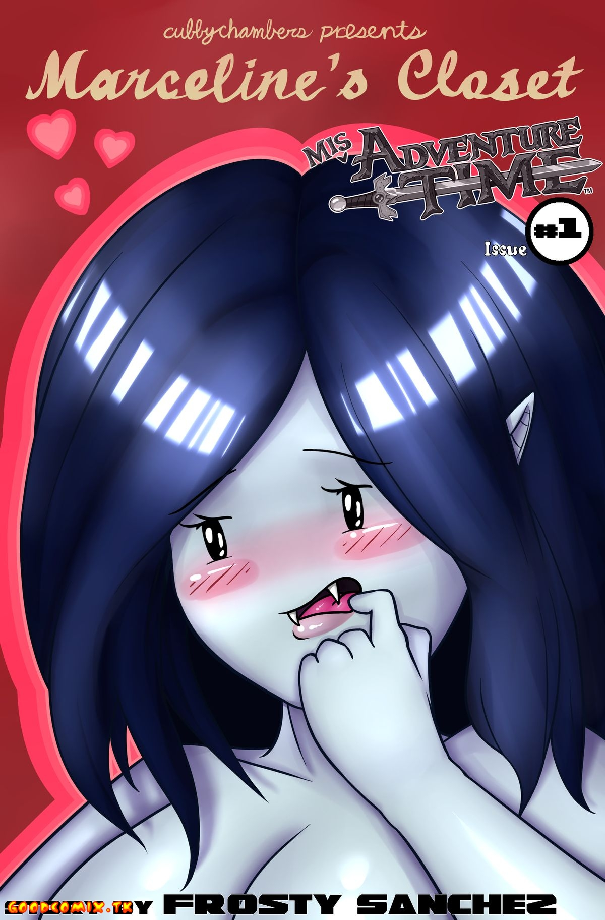 MisAdventure Time Issue #1 - Marcelines Closet - 00a_Cover (C)