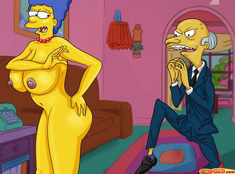 Montgomery Burns Wants to fuck Marge - 001
