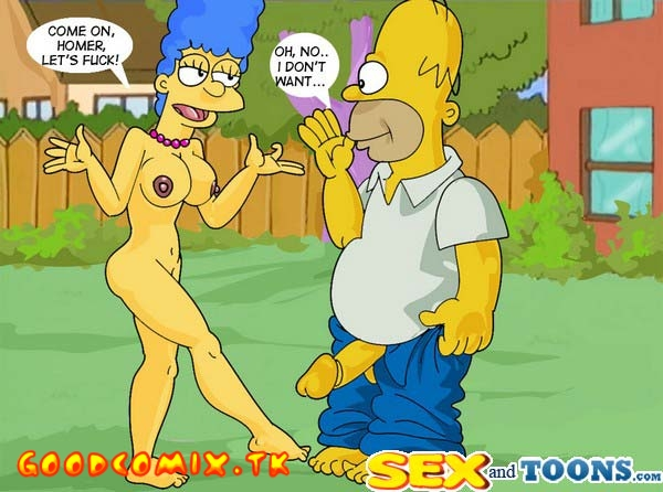 Cartoon Porn Simpsons Porn Homer and Marge Sex
