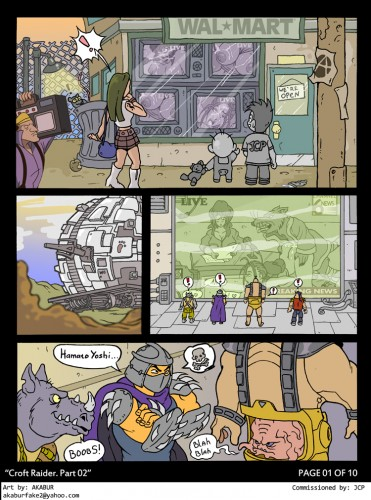 Croft Raider 2-page1