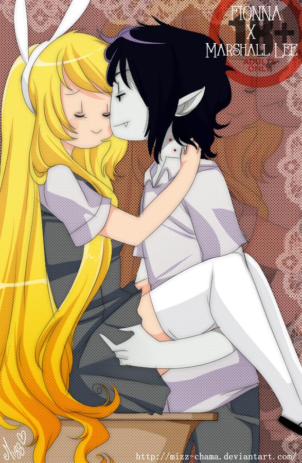 Adventure Time - Fionna x Marshall Lee