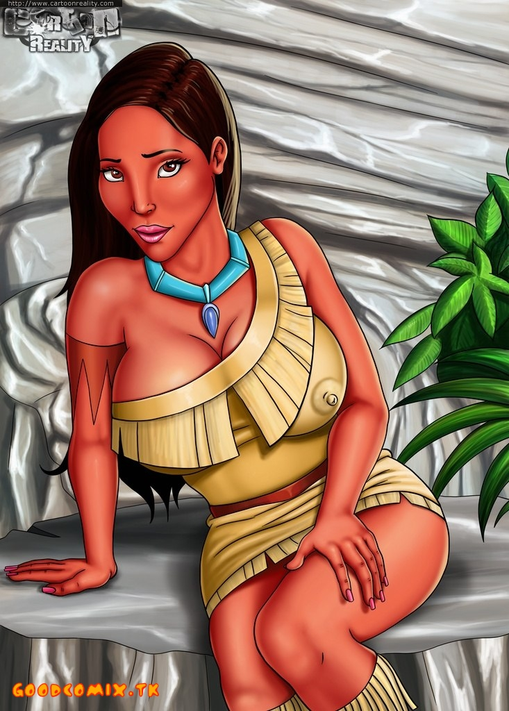 SureFap xxx porno Pocahontas - [Cartoon Reality] - Home Striptease by Pocahontas