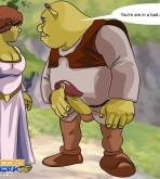 Shrek — [Cartoons Network] — Shrek and Fiona Near The Canyon xxx porno
