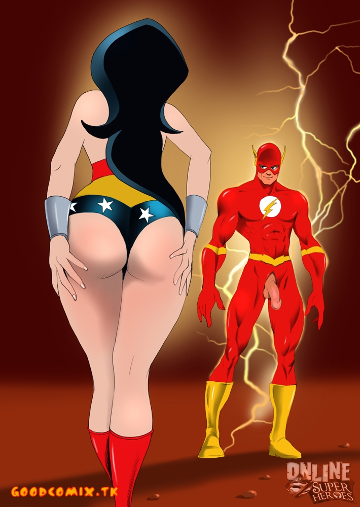 Flash X Wonder Women-01