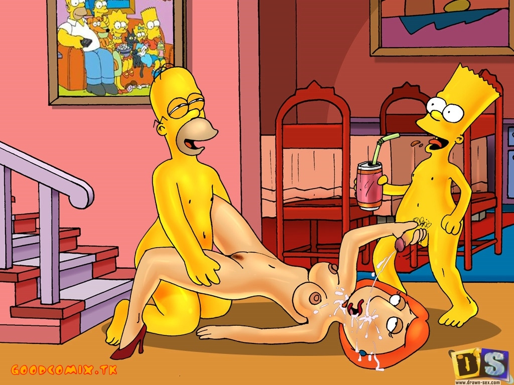 SureFap xxx porno The Simpsons - Family Guy - [Drawn-Sex] - Swingers Party xxx porno