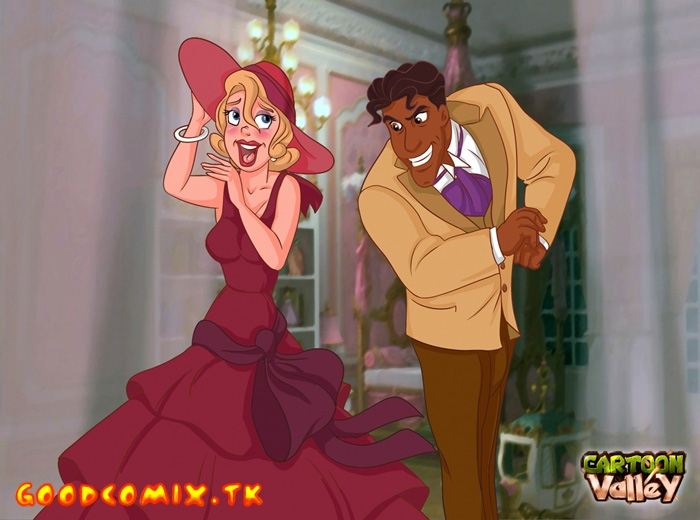 Hot Blonde Lottie And Prince Naveen Cum Together!-01