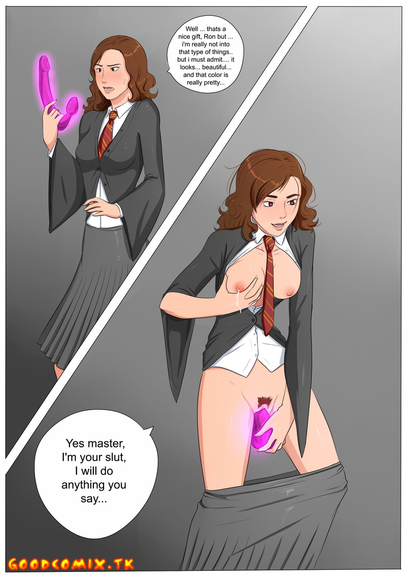 The Epic Quest of The Hypnotic Dildo - P1 - (Hermione Granger)