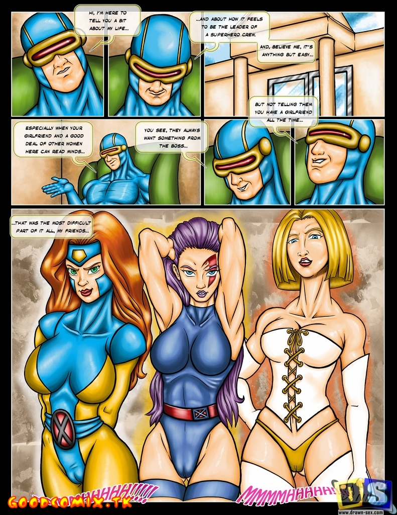 SureFap xxx porno X-Men - [Drawn-Sex] - X-Men Girls