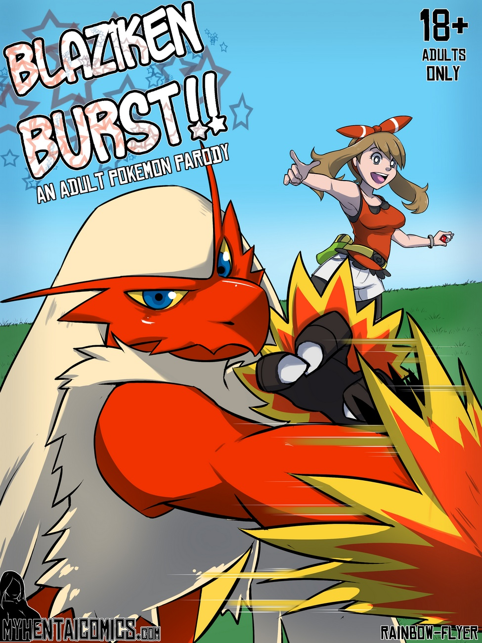 Blaziken Burst!! - 00_Cover