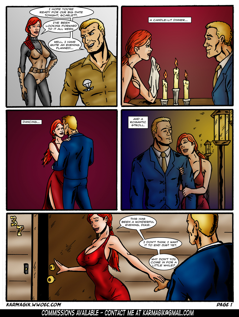 G.I. Joe BDSM -  Part_1 - Page 01