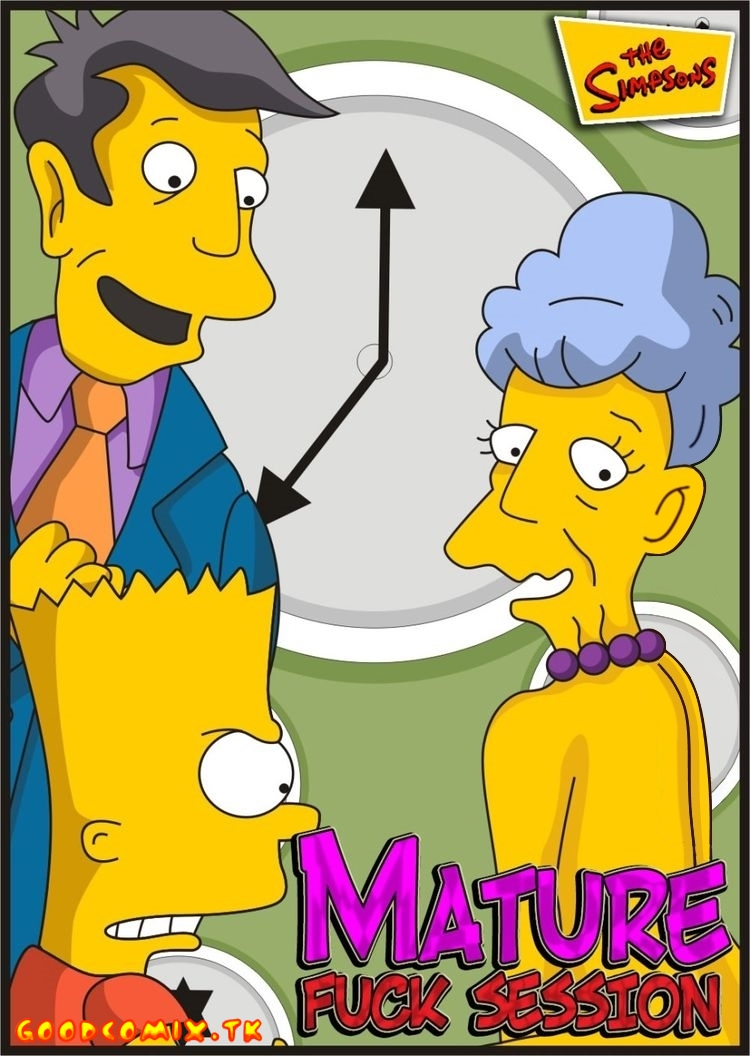 SureFap xxx porno The Simpsons - [Comics-Toons] - Mature Fuck Session