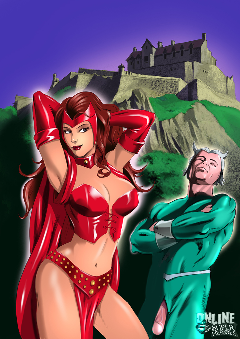 Scarlet Witch and Quicksilver - 01