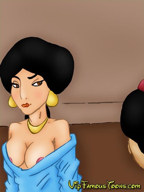 SureFap xxx porno Aladdin - [VIP Famous Toons] - Aladdin and Jasmine Hard SEX (V1 and V2)