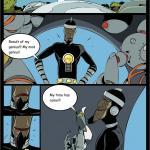 The Teen Titans — [Comics-Toons][Okunev] — Bumblebee Vs Dr. Light