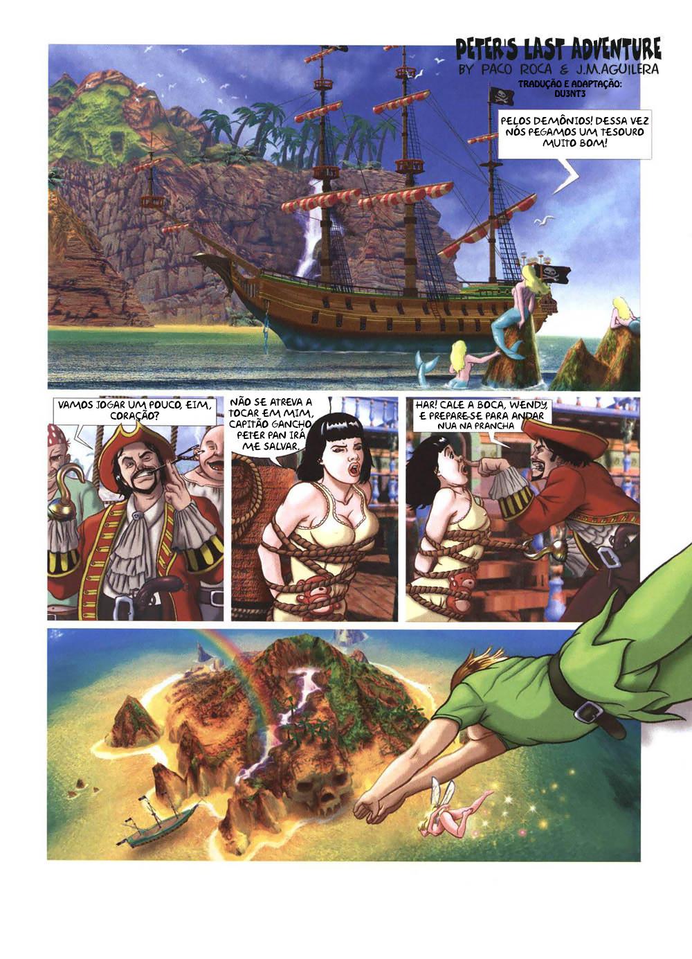 SureFap xxx porno Peter Pan - [Paco Roca, J. Aguilera] - Peter's Last Adventure