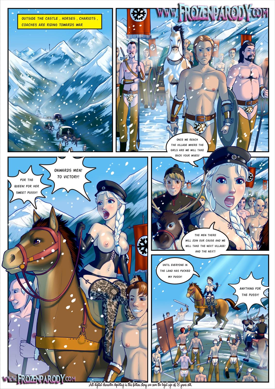 SureFap xxx porno Frozen - [Grimphantom][FrozenParody] - Frozen Parody - Part 2 - Anna
