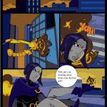 The Teen Titans — [Comics-Toons][Okunev][EXP-ART] — Raven Vs. Slade