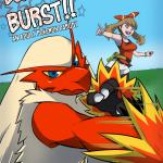 Pokemon — [Rainbow Flyer] — Blaziken Burst!!