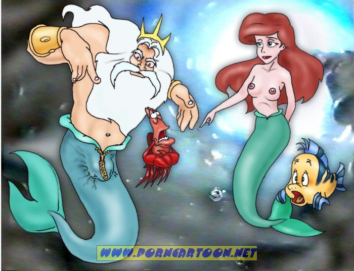 SureFap xxx porno The Little Mermaid - [PornCartoon] - Tireless Neptune