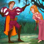 Enchanted — [XL-Toons] — Prince Edward Met The Princess Giselle
