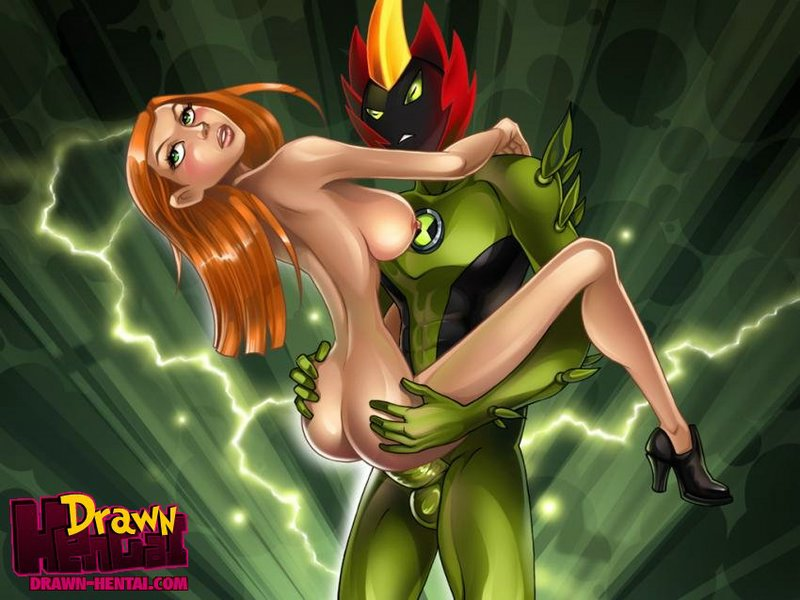 SureFap xxx porno Ben 10 - [Drawn Hentai] - The Power Works Wonders