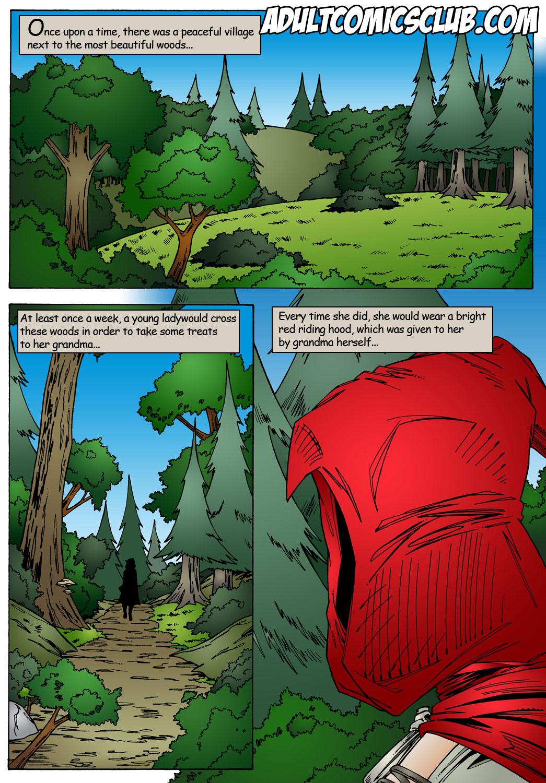 SureFap xxx porno Little Red Riding Hood - [Leandro Comics] - Mr. Hunter With Big Dick