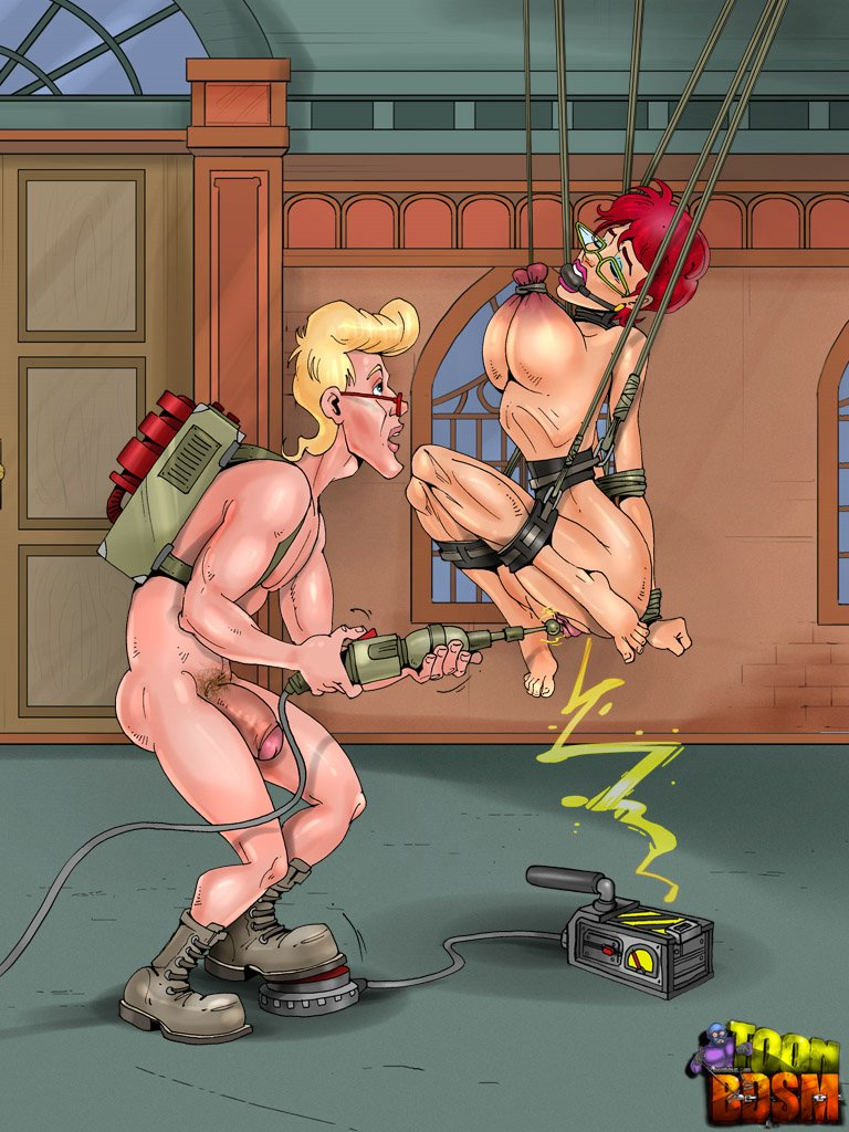 SureFap xxx porno Ghostbusters - [ToonBDSM][Classic] - Tests And Enjoyment Room