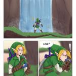 The Legend of Zelda — [Afrobull] — A Riverside Reunion