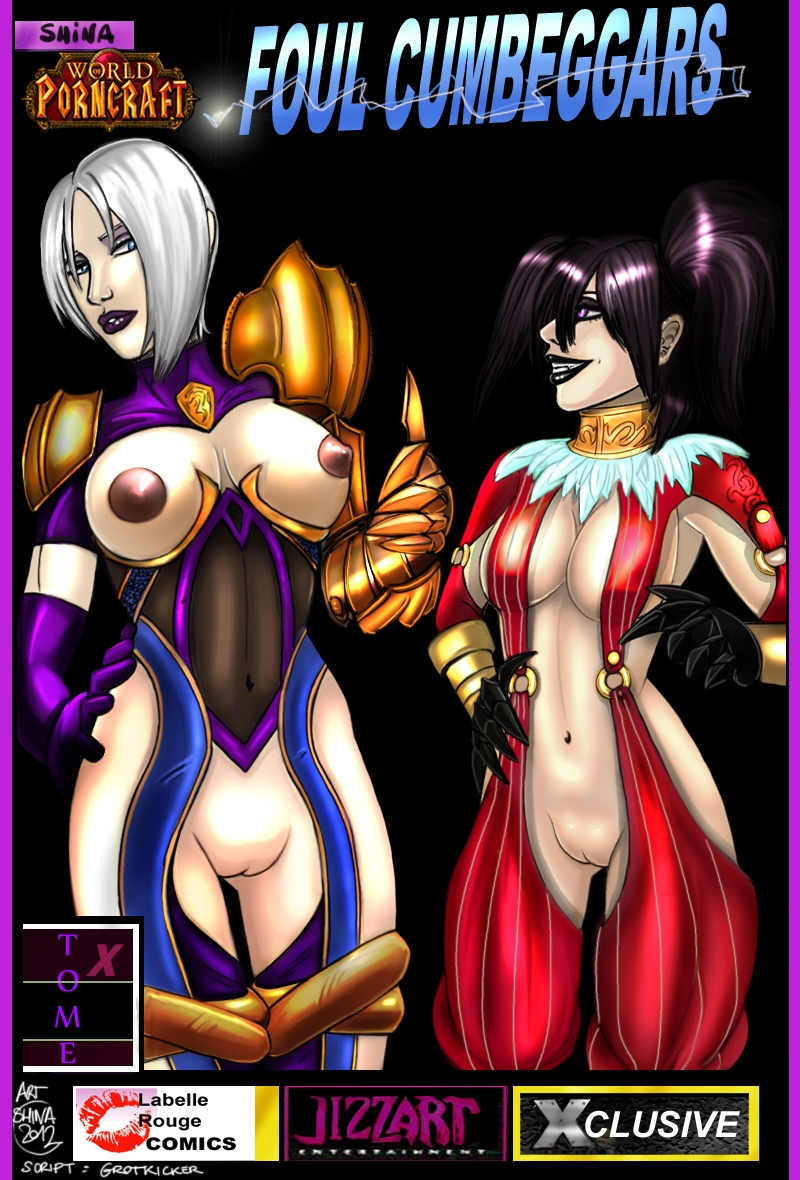 SureFap xxx porno World of Warcraft - [World Of PornCraft][Shina's Art] - Foul Cumbeggars