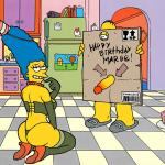 The Simpsons — [Akabur] — Homer And Marge.3 — Birthday in the Kitchen