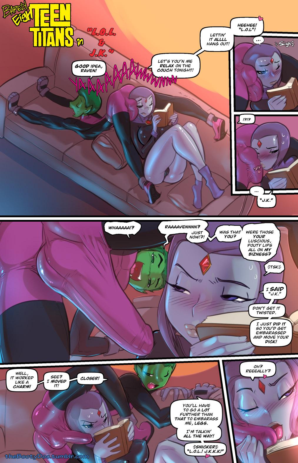 SureFap xxx porno The Teen Titans - [Fred Perry] - Barely EighTeen Titans