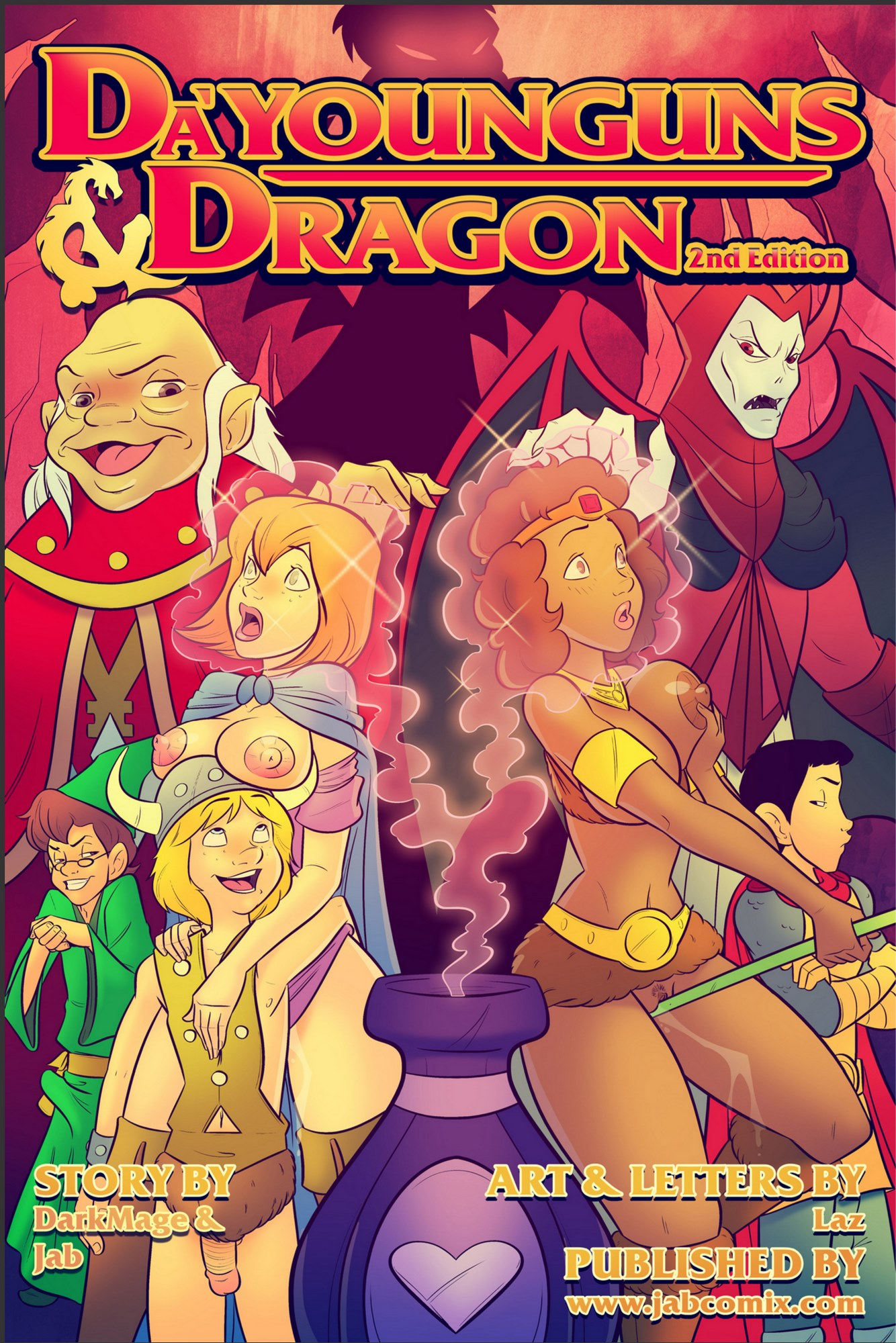 SureFap xxx porno Dungeons & Dragons - [JabComix] - Da'Younguns and Dragon 2nd Edition