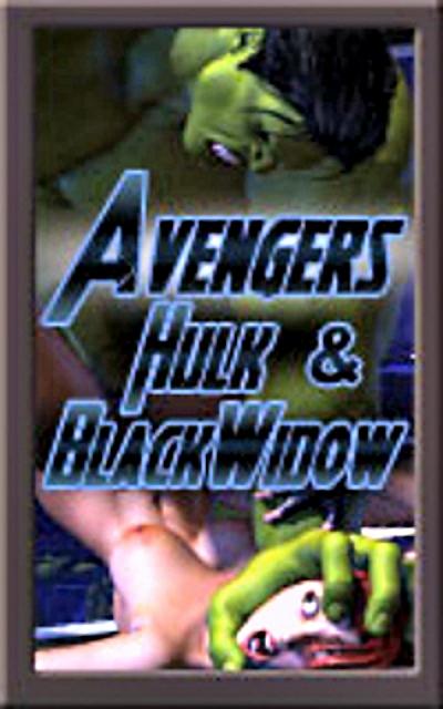 SureFap xxx porno The Avengers - [Mongo Bongo] - Hulk & Black Widow