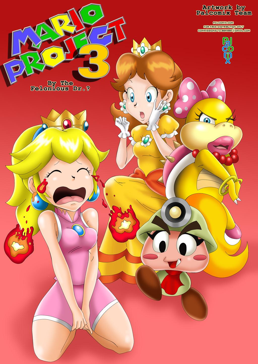 SureFap xxx porno Super Mario Bros - [Palcomix][Felonius Dr.] - Mario Project 3