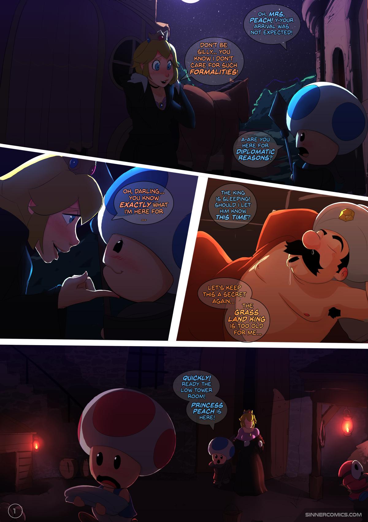 SureFap xxx porno Super Mario Bros - [Sillygirl] - Peach Princess