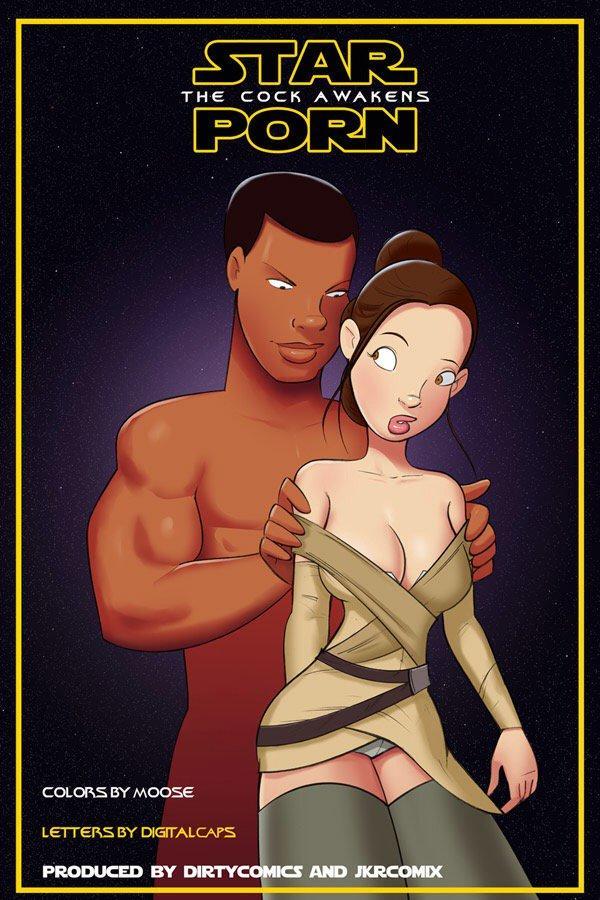SureFap xxx porno Star Wars - [JKRcomix][DirtyComics] - Star Porn