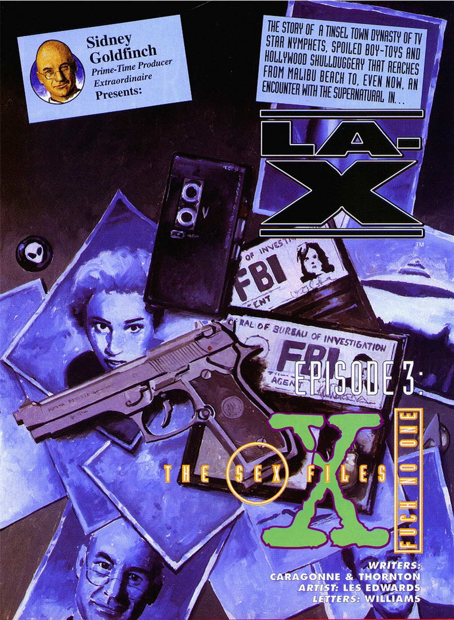 SureFap xxx porno The X-Files - [Les Edwards][Movies] - EPISODE 3 - The Sex Files - Fuck No One