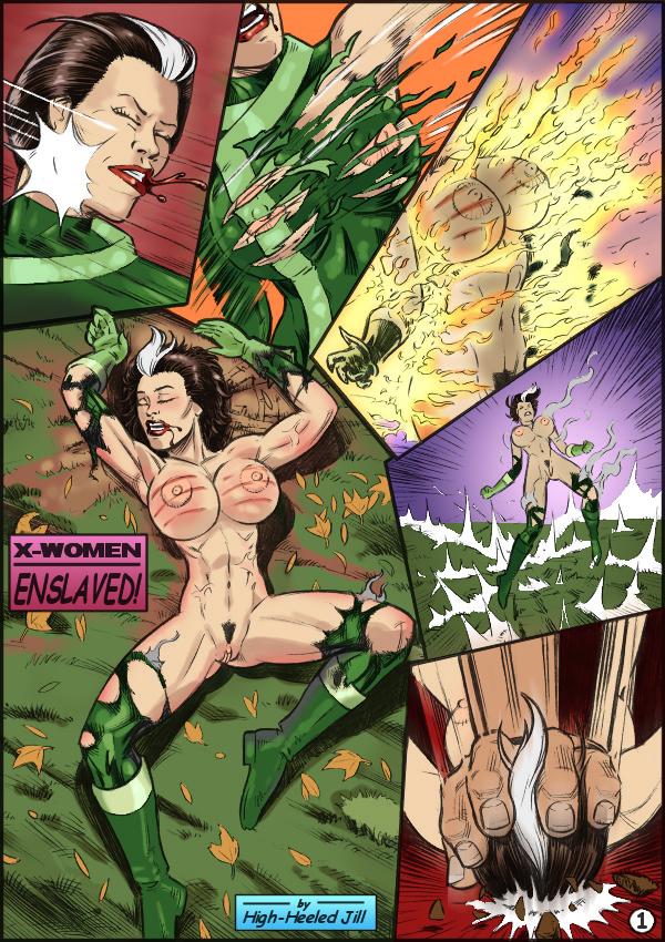 SureFap xxx porno X-Men - [Dimsumboy22][High-Heeled Jill] - X-Woman Enslaved