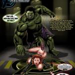 The Avengers — [Smudge] — Black Widow Vs The Hulk