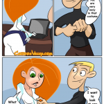 Kim Possible — [CartoonValley][Comic][Chupa] — Kim Has Naughty Fun With Ron