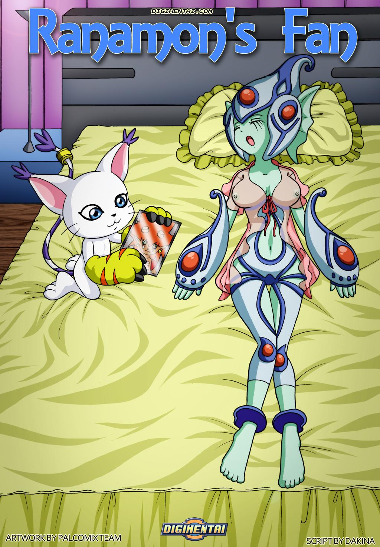 SureFap xxx porno Digimon Adventure - [Palcomix][DigiHentai] - Ranamon's Fan