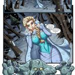 Frozen - [FrozenParody] - Savior's Hard Dick - Крепкий Хуй Спасителя