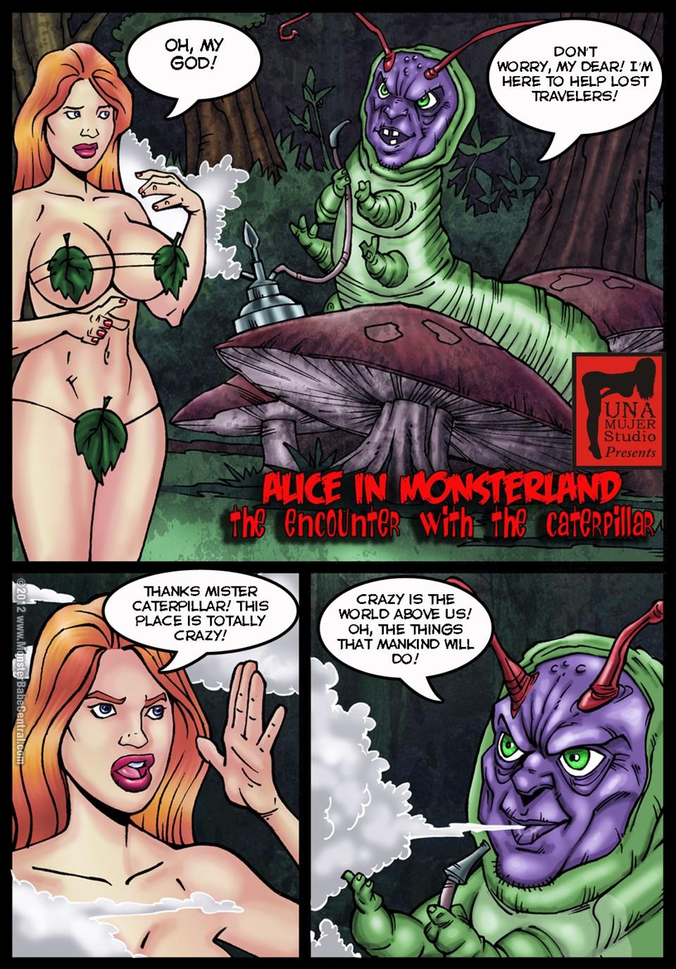 SureFap xxx porno Alice in Wonderland - [MonsterBabeCentral] - Alice in Monsterland 02 - The Encounter With The Ceterpillar
