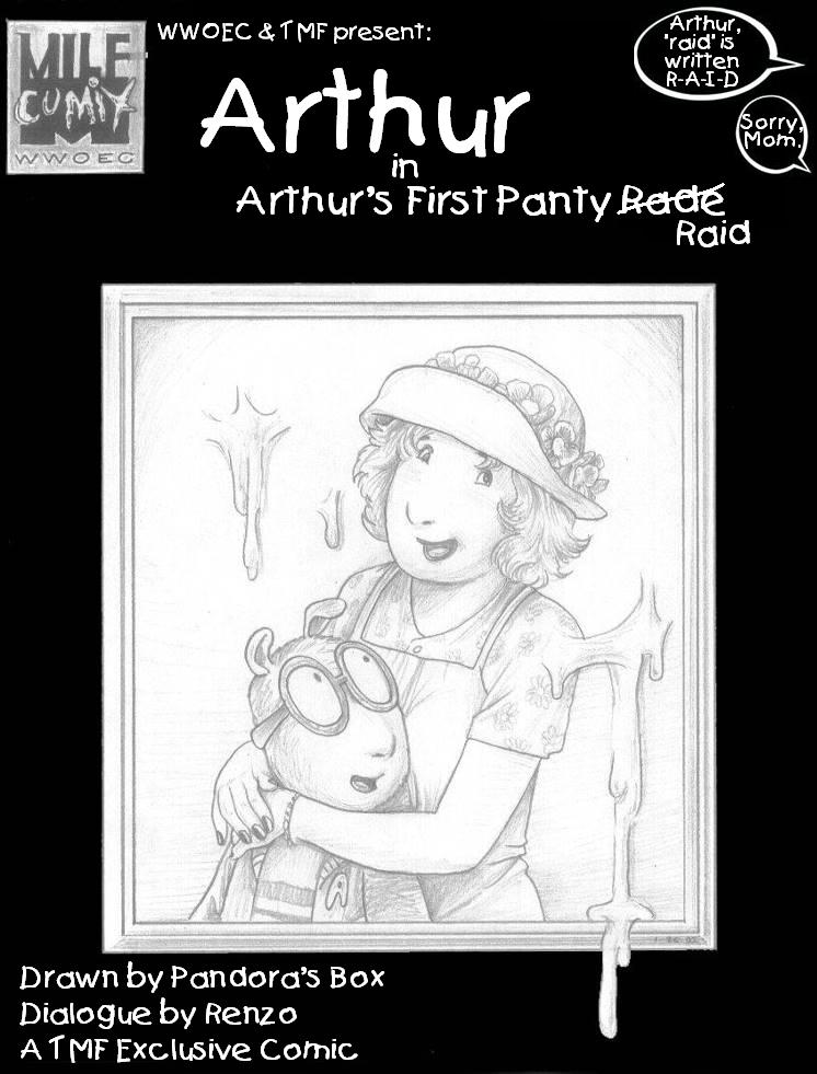 SureFap xxx porno Arthur - [Pandoras Box (PBX)] - Arthur in Arthur's First Panty Raid